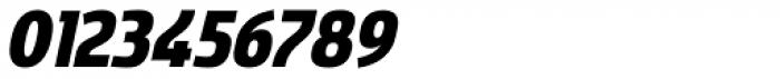 Sancoale Narrow Black Italic Font OTHER CHARS