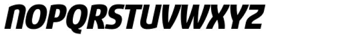 Sancoale Narrow Black Italic Font UPPERCASE