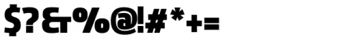 Sancoale Narrow Black Font OTHER CHARS