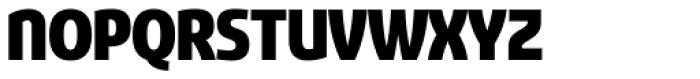 Sancoale Narrow Black Font UPPERCASE