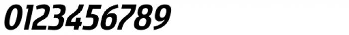 Sancoale Narrow Bold Italic Font OTHER CHARS