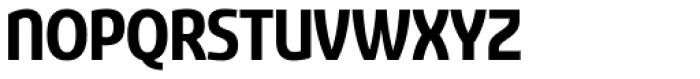 Sancoale Narrow Bold Font UPPERCASE
