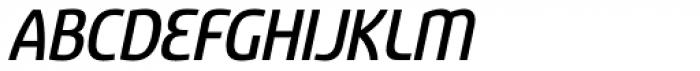 Sancoale Narrow Medium Italic Font UPPERCASE