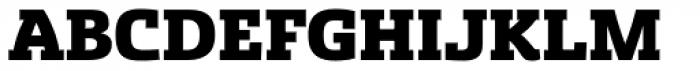 Sancoale Slab Black Font UPPERCASE