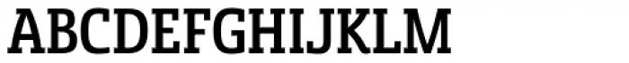 Sancoale Slab Cond Medium Font UPPERCASE