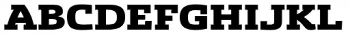 Sancoale Slab Ext Black Font UPPERCASE