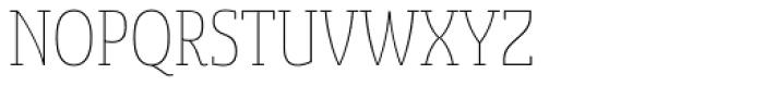 Sancoale Slab Soft Cond Thin Font UPPERCASE