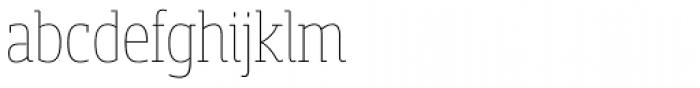 Sancoale Slab Soft Cond Thin Font LOWERCASE