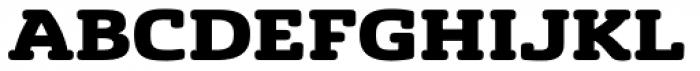 Sancoale Slab Soft Extended Black Font UPPERCASE