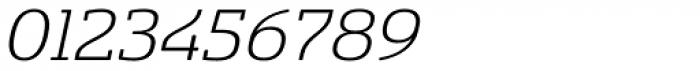 Sancoale Slab Soft Extended Light Italic Font OTHER CHARS
