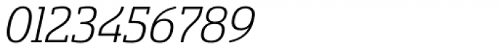 Sancoale Slab Soft Light Italic Font OTHER CHARS
