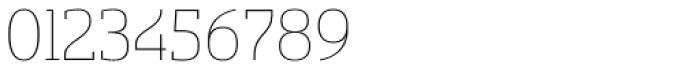 Sancoale Slab Soft Thin Font OTHER CHARS