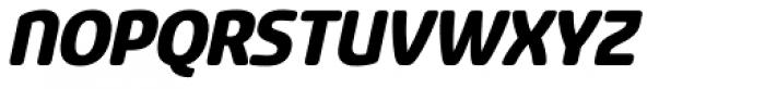 Sancoale Softened Black Italic Font UPPERCASE