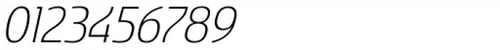 Sancoale Softened Light Italic Font OTHER CHARS