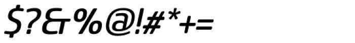 Sancoale Softened Medium Italic Font OTHER CHARS