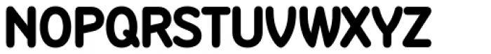Sandbox Bold Font UPPERCASE
