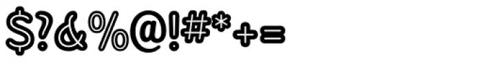 Sandbox Inline Font OTHER CHARS