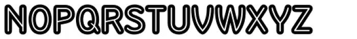 Sandbox Inline Font UPPERCASE