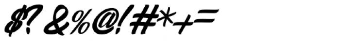 Sandglow Font OTHER CHARS