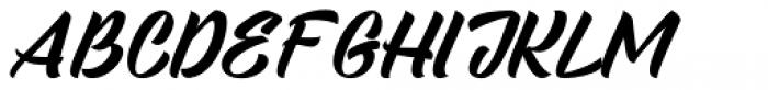 Sandglow Font UPPERCASE