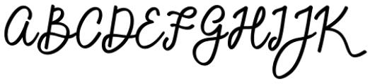 Sandwell Regular Font UPPERCASE