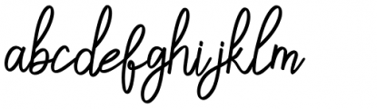 Sandwell Regular Font LOWERCASE