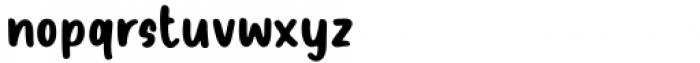 Sandy House Regular Font LOWERCASE