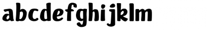 Sandy Font LOWERCASE