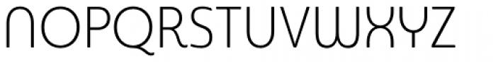 Sangli Condensed Light Font UPPERCASE