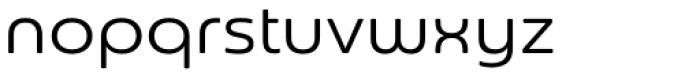 Sangli Extended Regular Font LOWERCASE