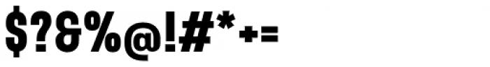 Sango Black Font OTHER CHARS