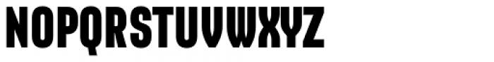 Sango Black Font UPPERCASE