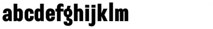 Sango Black Font LOWERCASE