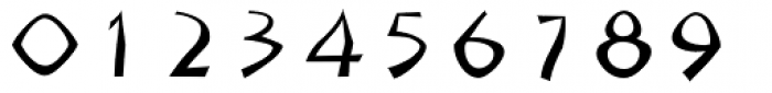 Sangoma Font OTHER CHARS