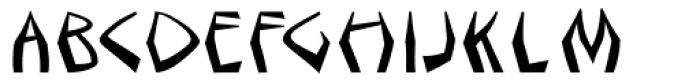 Sangoma Font UPPERCASE