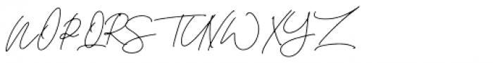 Sanitary Regular Font UPPERCASE