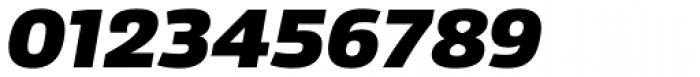 Sans Beam Body Black Italic Font OTHER CHARS
