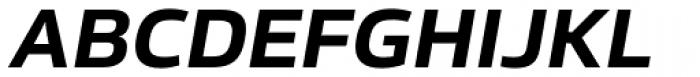 Sans Beam Body Bold Italic Font UPPERCASE
