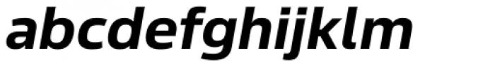 Sans Beam Body Bold Italic Font LOWERCASE