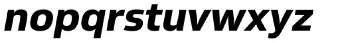Sans Beam Body Extra Bold Italic Font LOWERCASE