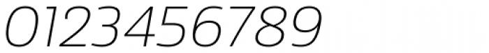 Sans Beam Body Extra Light Italic Font OTHER CHARS