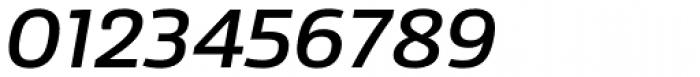 Sans Beam Body Medium Italic Font OTHER CHARS