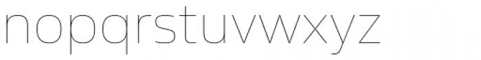 Sans Beam Body Ultra Light Font LOWERCASE