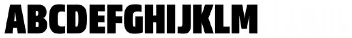 Sans Beam Head Black Font UPPERCASE