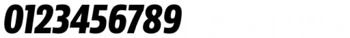 Sans Beam Head Extra Bold Italic Font OTHER CHARS