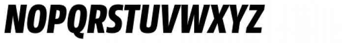 Sans Beam Head Extra Bold Italic Font UPPERCASE