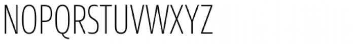 Sans Beam Head Extra Light Font UPPERCASE
