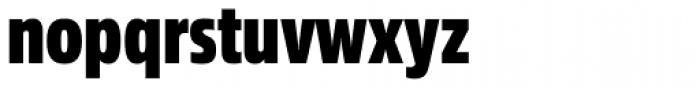 Sans Beam Head Heavy Font LOWERCASE