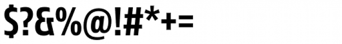 Sans Beam Head Semi Bold Font OTHER CHARS