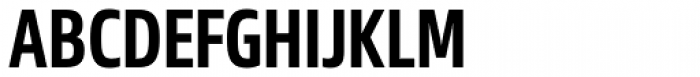 Sans Beam Head Semi Bold Font UPPERCASE